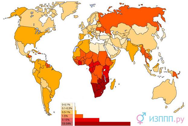 Клинические признаки и длительность инкубационного периода при ВИЧ